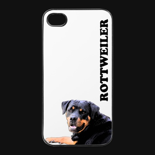 Rottweiler Handy Abdeckung - iPhone 4/4s Hard Case