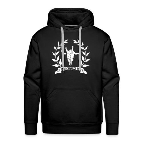 Ratslogo-Kapuzenpullover mit Name - Männer Premium Hoodie