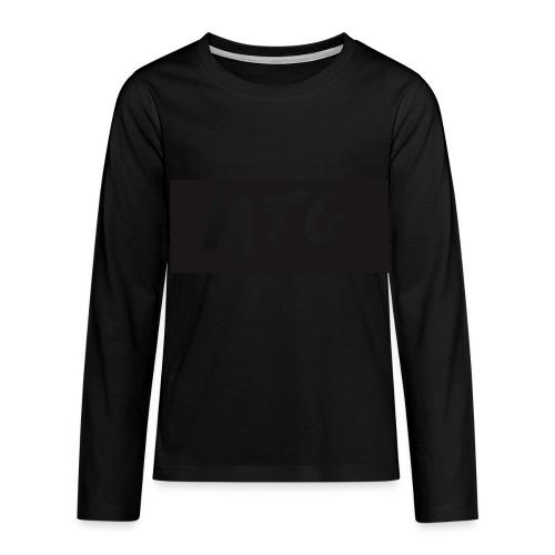 Teenagers' Premium Longsleeve Shirt