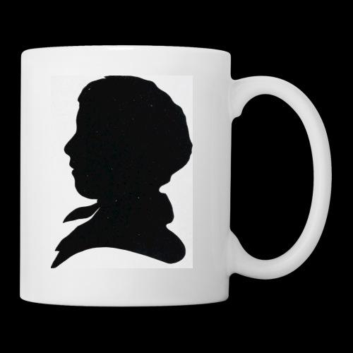Victorian Silhouette - Mug
