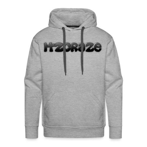 ItzCraze Hoodie-Grey - Men's Premium Hoodie