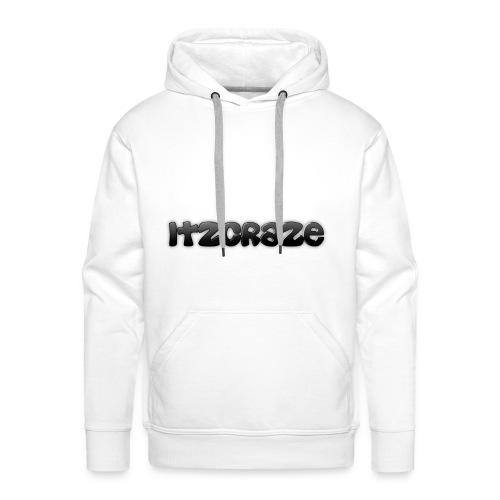 ItzCraze Hoodie-White - Men's Premium Hoodie
