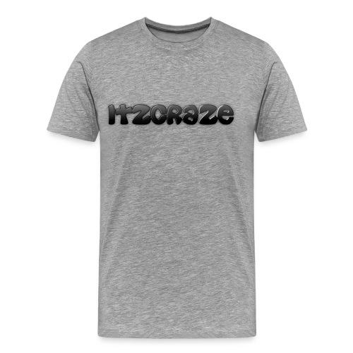 ItzCraze T-Shirt Grey - Men's Premium T-Shirt