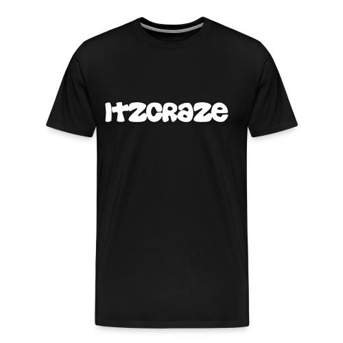 ItzCraze T-Shirt Black - Men's Premium T-Shirt