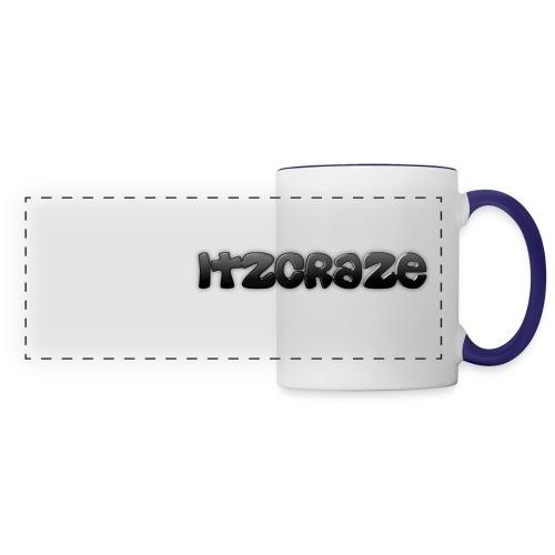 ItzCraze White/Blue panoramic mug - Panoramic Mug