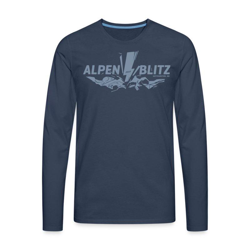 Alpenblitz Logo 2016 - Männer Premium Langarmshirt