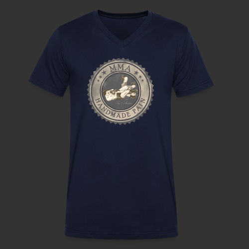 MMA -retro - Männer Bio-T-Shirt mit V-Ausschnitt von Stanley & Stella