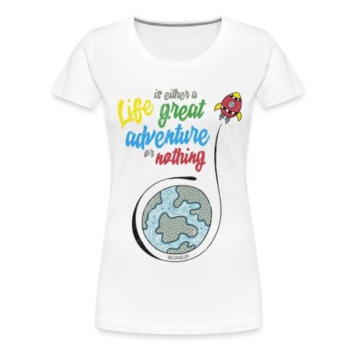 Life - T-shirt Premium Femme
