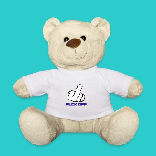 Teddybjørn (med fuk off motiv) - Teddybjørn