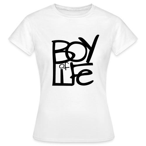 FEMALE BOY OF LIFE Shirt (verschiedene Farben) - Frauen T-Shirt