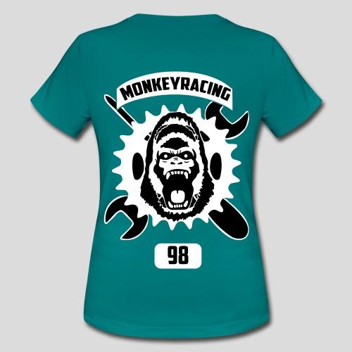 T-Shirt für Frauen mit schwarzer Schrift - Frauen T-Shirt