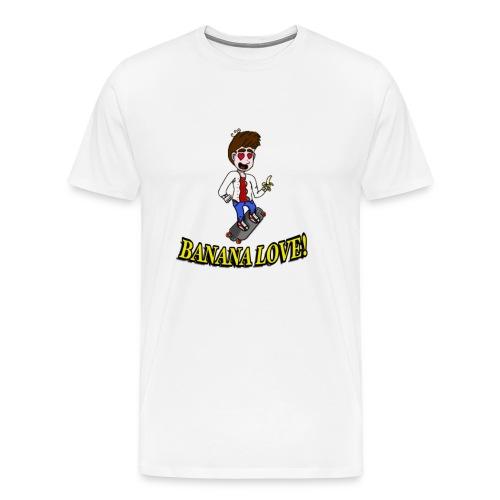 Banana Love Shirt - Männer Premium T-Shirt