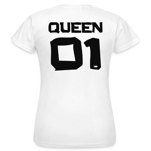 QUEEN - 01 (WHITE) - Frauen T-Shirt