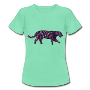 Jaguar in Stripes - Women's T-Shirt
