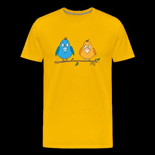 Birds - Männer Premium T-Shirt