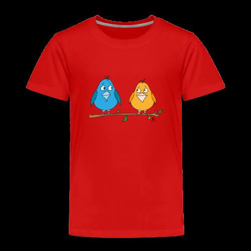 Birds - Kinder Premium T-Shirt