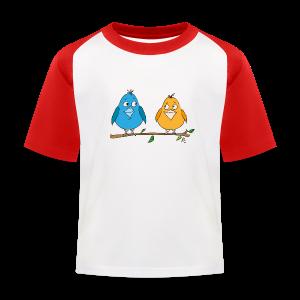 Birds - Kinder Baseball T-Shirt