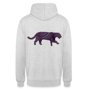 Jaguar in Stripes - Unisex Hoodie