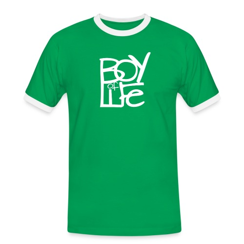 MALE BOY OF LIFE SHirt (verschiedene Farben) - Männer Kontrast-T-Shirt