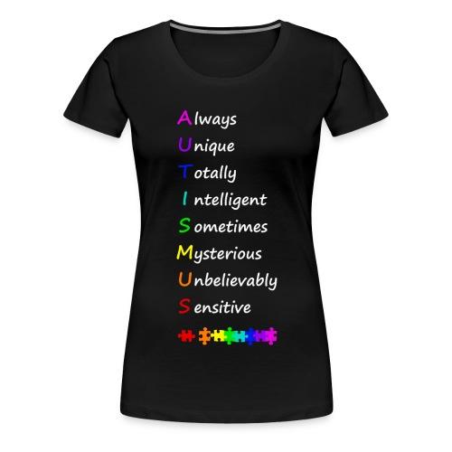 Autismus - Women's Premium T-Shirt