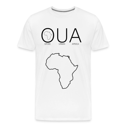 OUA White - Men's Premium T-Shirt