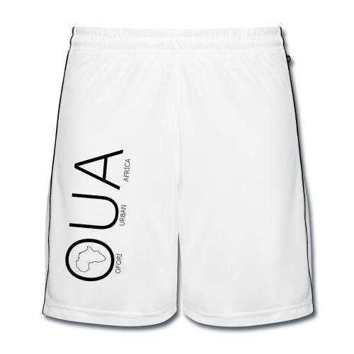 OUA White Shorts - Men's Football shorts