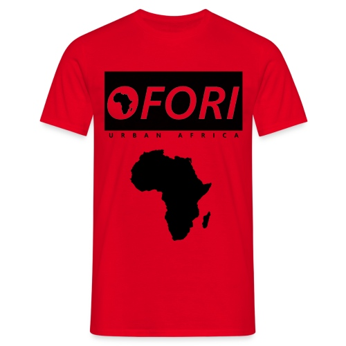 Ofori Africa Red - Men's T-Shirt