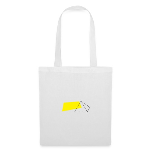 piramid tas - Tas van stof