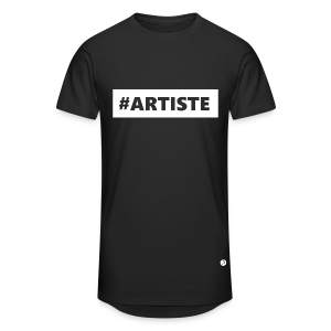 T-shirt long Hashtag Artiste - T-shirt long Homme