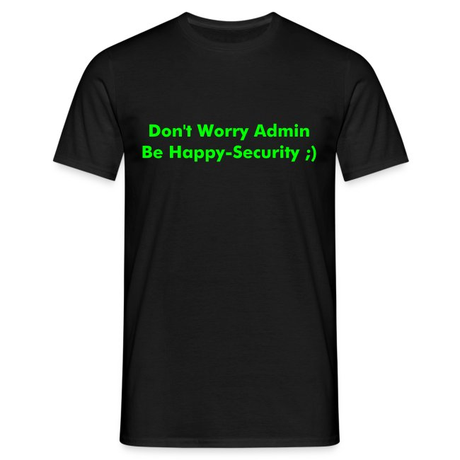 Be Happy-Security