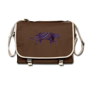 Jaguar in Stripes - Shoulder Bag