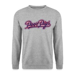 mpp Pullover Logo weiß-grau - Männer Pullover