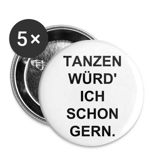 5 TWISG BUTTONS - Buttons groß 56 mm