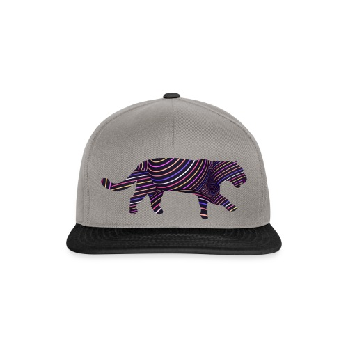 Jaguar in Stripes - Snapback Cap
