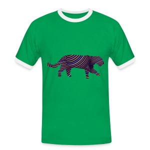 Jaguar in Stripes - Men's Ringer Shirt
