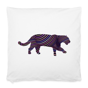 Jaguar in Stripes - Pillowcase 40 x 40 cm