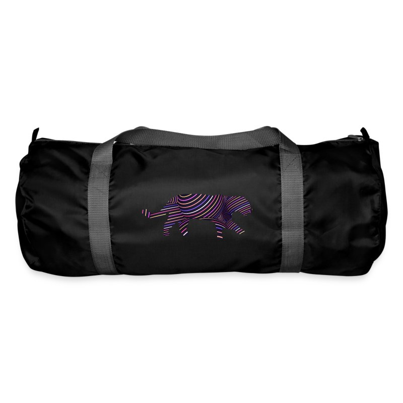 Jaguar in Stripes - Duffel Bag