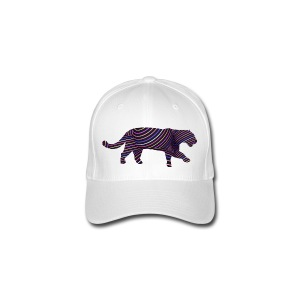 Jaguar in Stripes - Flexfit Baseball Cap