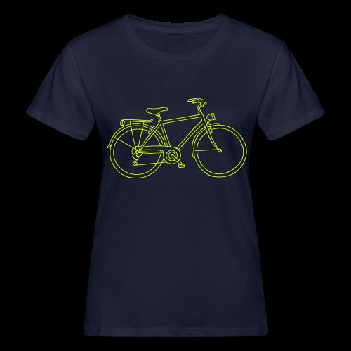 Fahrrad - Frauen Bio-T-Shirt