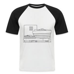 Guggenheim Museum NY - Männer Baseball-T-Shirt
