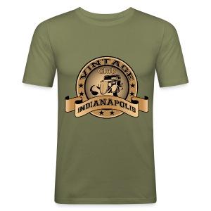 Vintage cars club - Men's Slim Fit T-Shirt