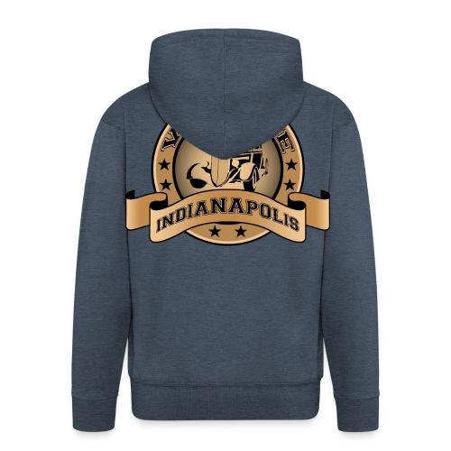 Vintage cars club - Men's Premium Hooded Jacket