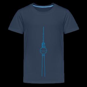 Fernsehturm Berlin - Teenager Premium T-Shirt
