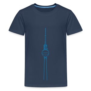 Fernsehturm Berlin - Teenager Premium T-Shirt