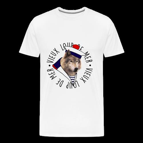 T-shirt Vieux loup de mer - T-shirt Premium Homme