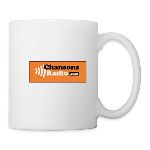 MUG CHANSONS RADIO - Mug blanc