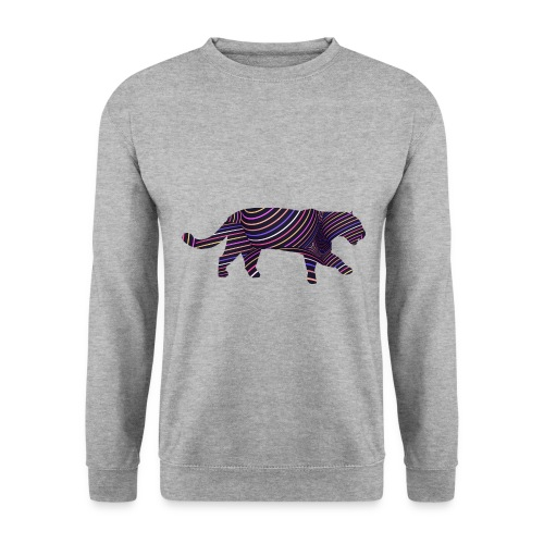 Jaguar in Stripes - Men's Sweatshirt