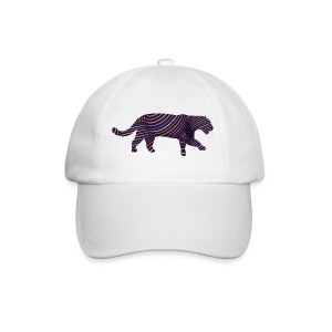 Jaguar in Stripes - Baseball Cap