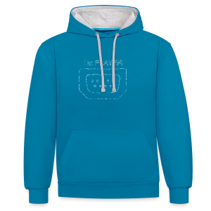 Port1 [1st PLAYER] - Contrast Colour Hoodie