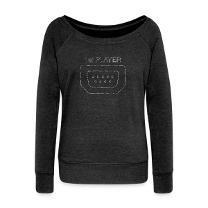 Port1 [1st PLAYER] - Women's Boat Neck Long Sleeve Top